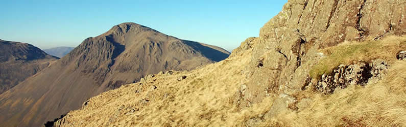 Great Gable crags