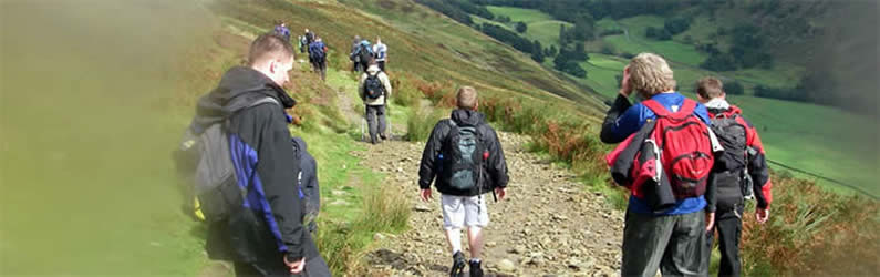 Team building and charity fundraising - Lake District 3000 Footers Challenge